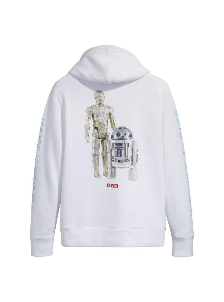 LEVI'S X STAR WARS星際大戰R2-D2 & C-3PO帽T,售...