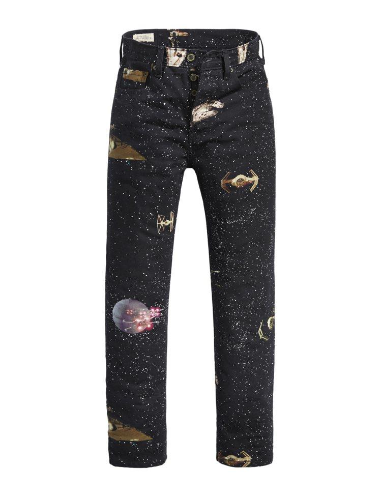 LEVI'S X STAR WARS星際大戰501原創直筒褲,售價 4,390...