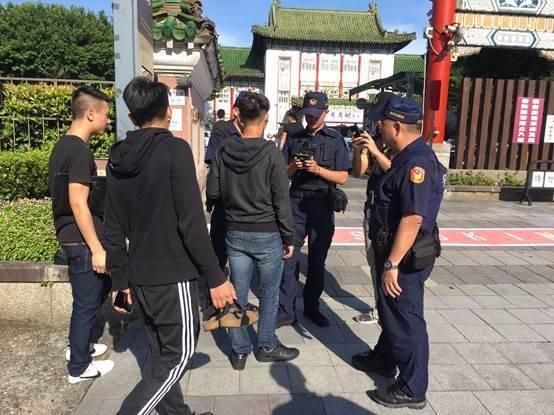 台北市掃蕩黑幫,破獲涉及組織犯罪防制條例等案件計16件40人。圖/記者廖炳棋翻攝