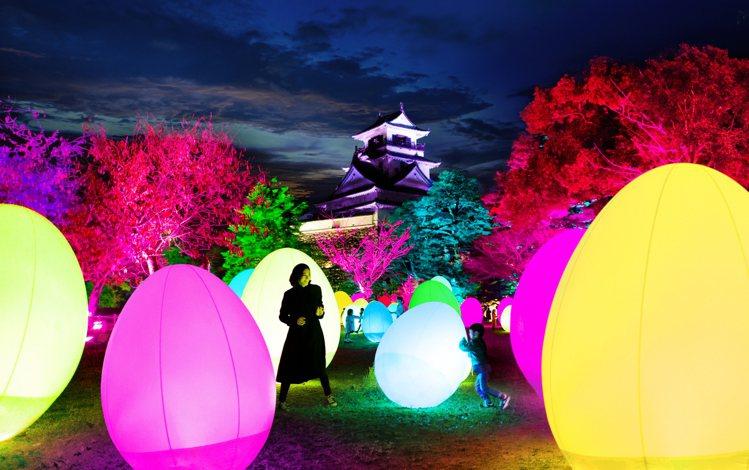teamLab 高知城光之祭典2019-2020,將於11月8日登場。圖/高知縣...