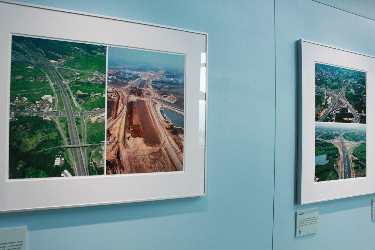 為慶祝高公局明年50周年慶,今起於國道關西服務區舉辦「國道‧綠廊道-從齊柏林看見...