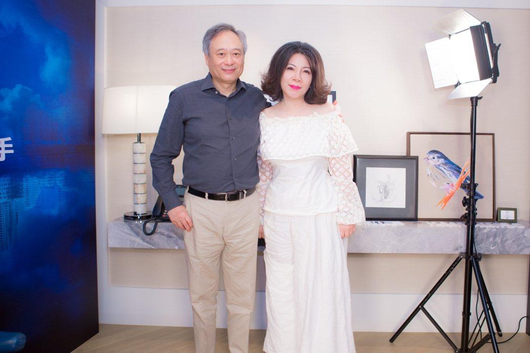 李安接受陳文茜專訪。圖/Yahoo TV提供
