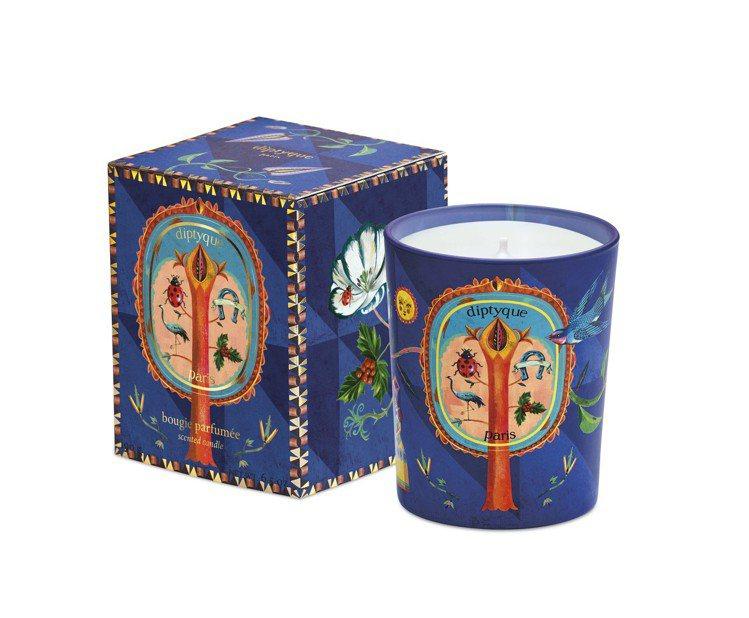 diptyque 2019耶誕限量蠟燭「琥珀降福」,70g售價1,350元、19...