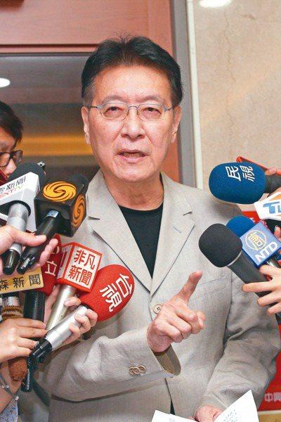 趙少康批國民黨不分區立委名單。圖/聯合報系資料照片