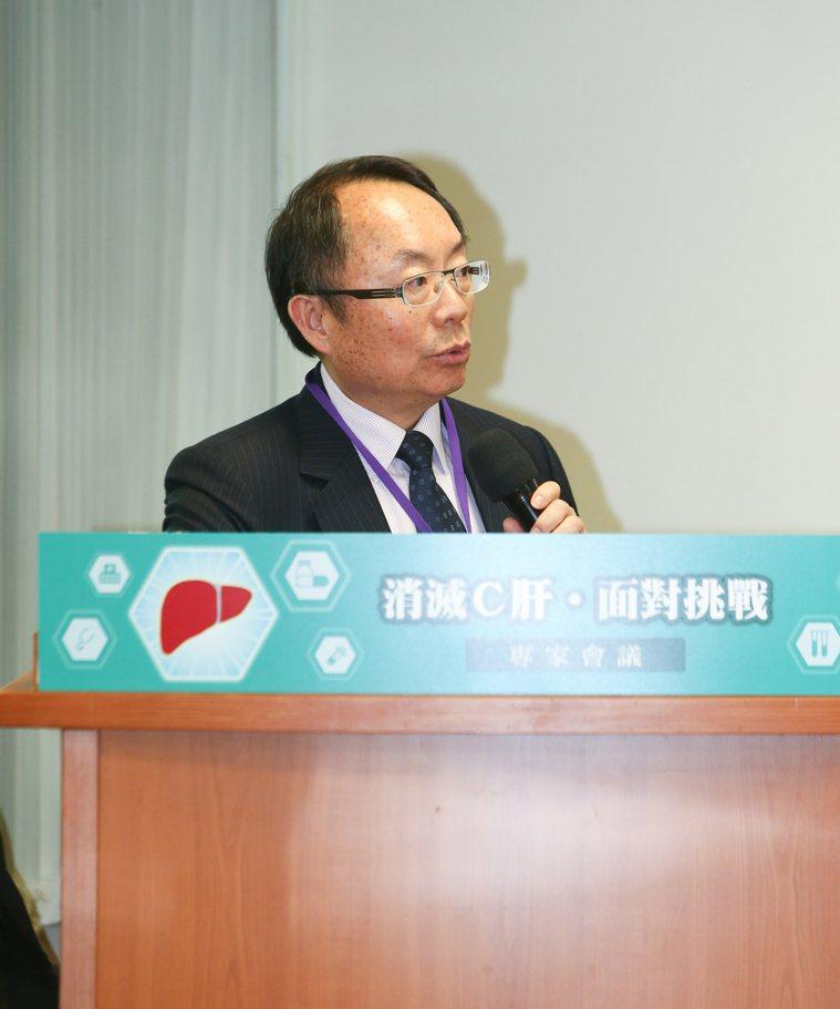 「消滅C肝,面對挑戰」專家會議,邀請C型肝炎治療的專家們交換意見,林口長庚醫院副...