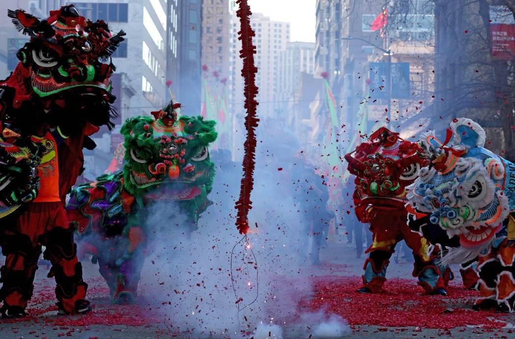 美國華府針對中國農曆新年推出飯店折扣,圖為舊金山今年二月慶祝農曆新年的活動。 (...