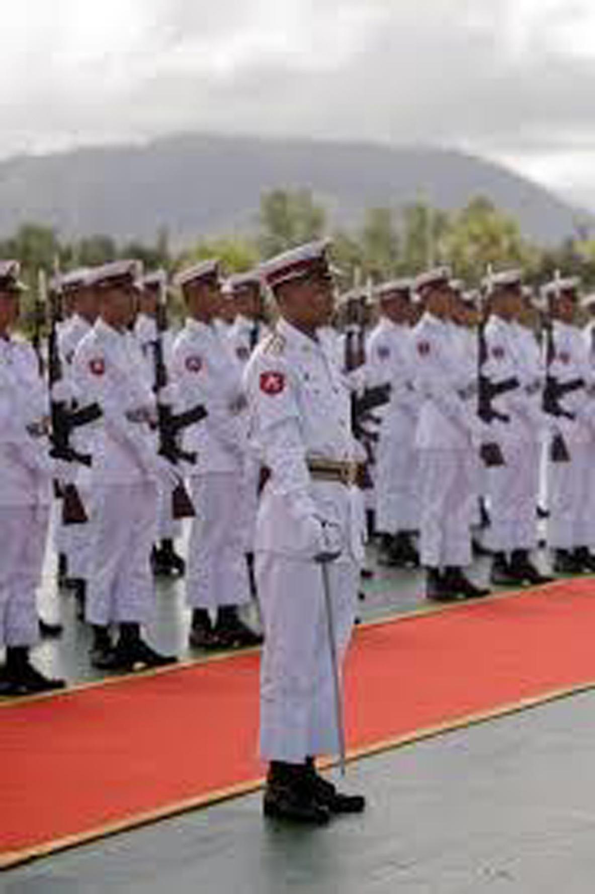 來自緬甸的劇團孔雀世代,因為進行諷刺軍方的表演,於30日被判監禁。(photo ...