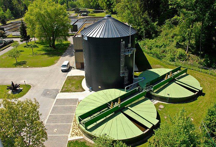 德國Lipp在全世界有上百場的厭氧發酵槽建構實績。征宇/提供