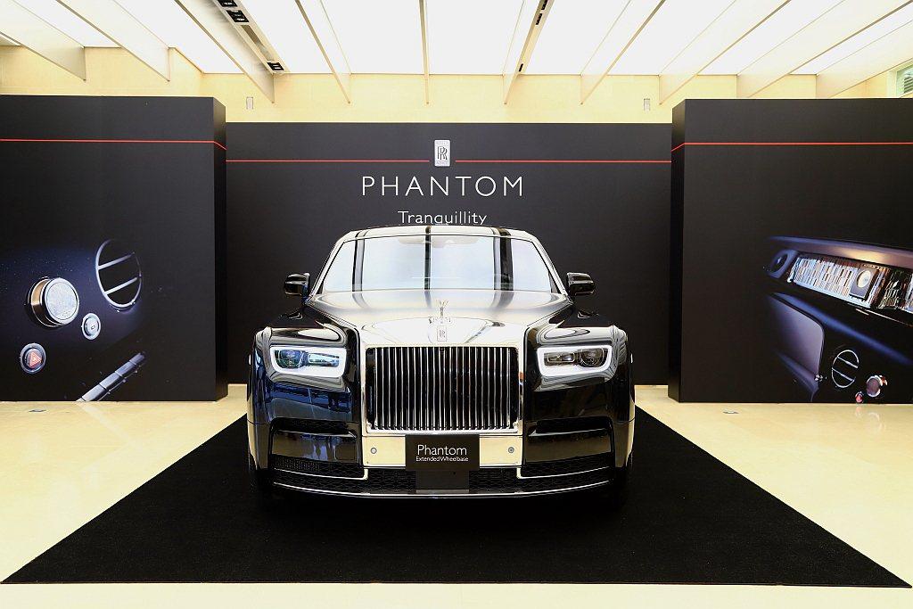 勞斯萊斯發表全球限量25台的Phantom Tranquillity稀世珍藏版,...
