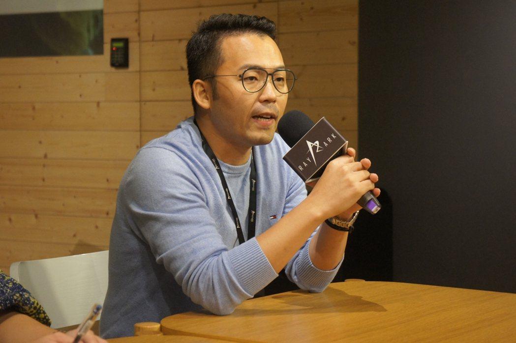 雷亞遊戲執行副總張世群與媒體分享舉辦特展的緣由。