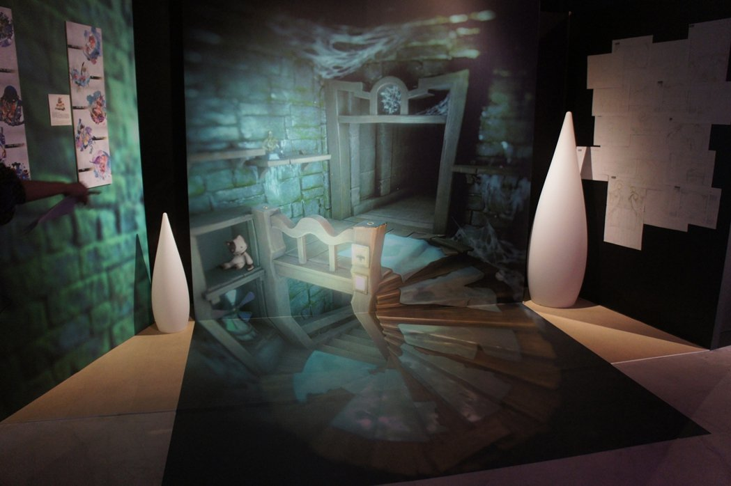 ASH DESIGN壹肆設計工作室繪製的3D地景圖,以《DEEMO》遊戲中的場景...