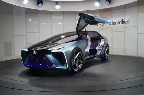 2019東京車展/鷗翼車門再現!Lexus發表LF-30純電概念車型 預約2030年問世