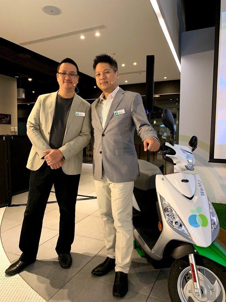 WeMo Scooter集結大數據,發表全台首份智慧交通白皮書。(左起:WeMo...