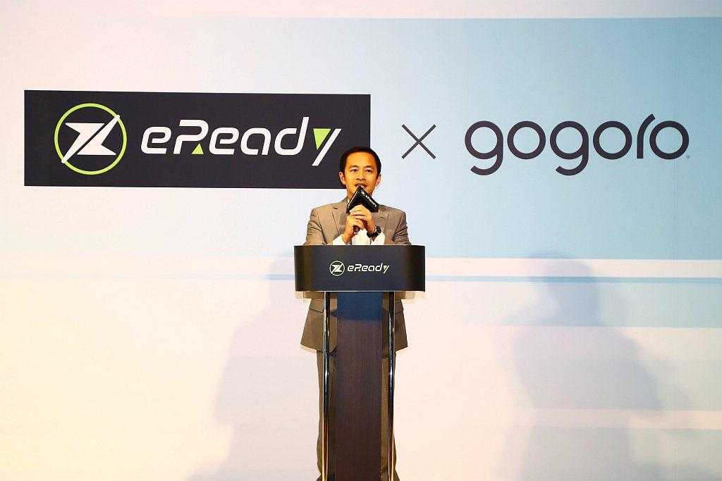 Gogoro Network總經理潘璟倫表示:「Gogoro Network電池...