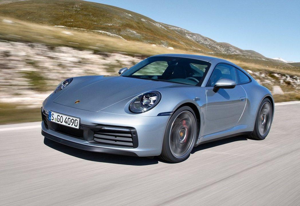 Porsche 911 Carrera 4S。 摘自Porsche