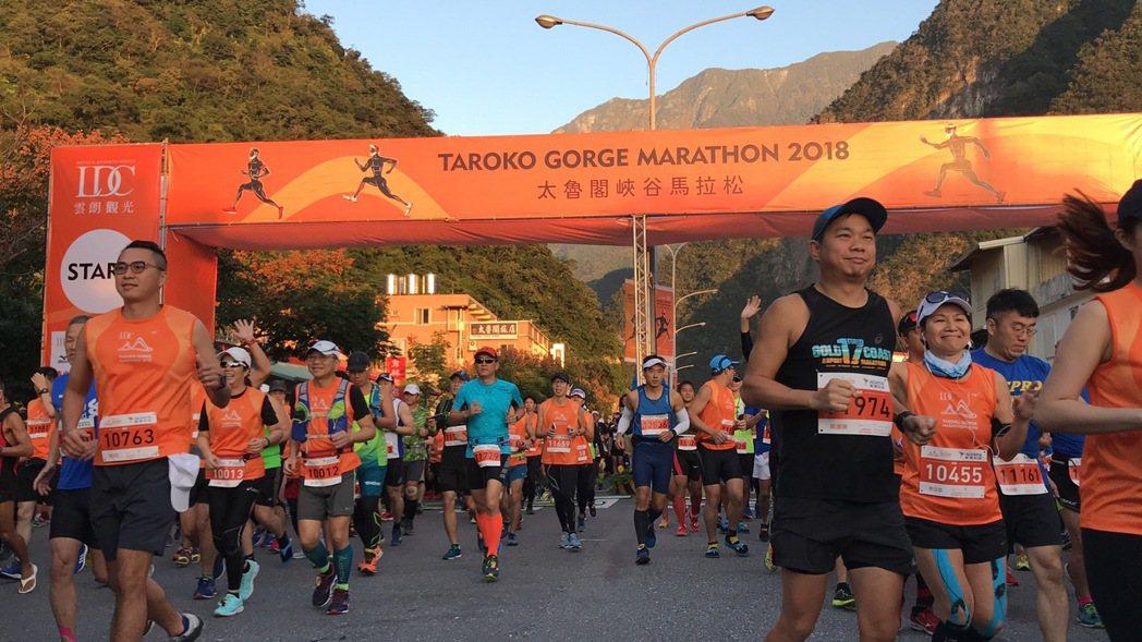 花蓮太魯閣峽谷馬拉松今年邁入第20年,已是國內外知名賽事,今年將有來自35國、1...