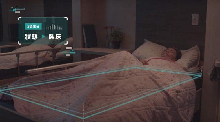使用智慧床墊,除了降低褥瘡發生率,還可以即時量測住民的生理數據,如心跳、呼吸;夜...