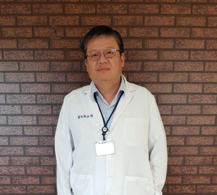 成大醫院血液腫瘤科副教授兼主治醫師顏家瑞。圖/顏家瑞提供