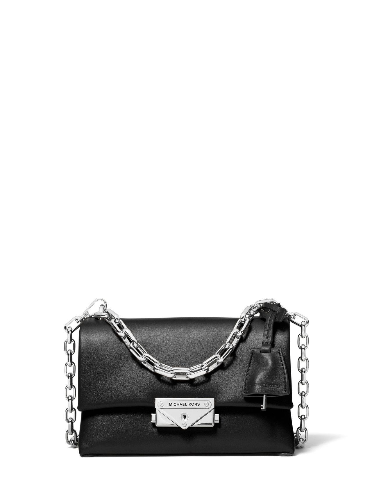 CECE黑色鍊帶小包,售價13,200元。圖/MICHAEL KORS提供