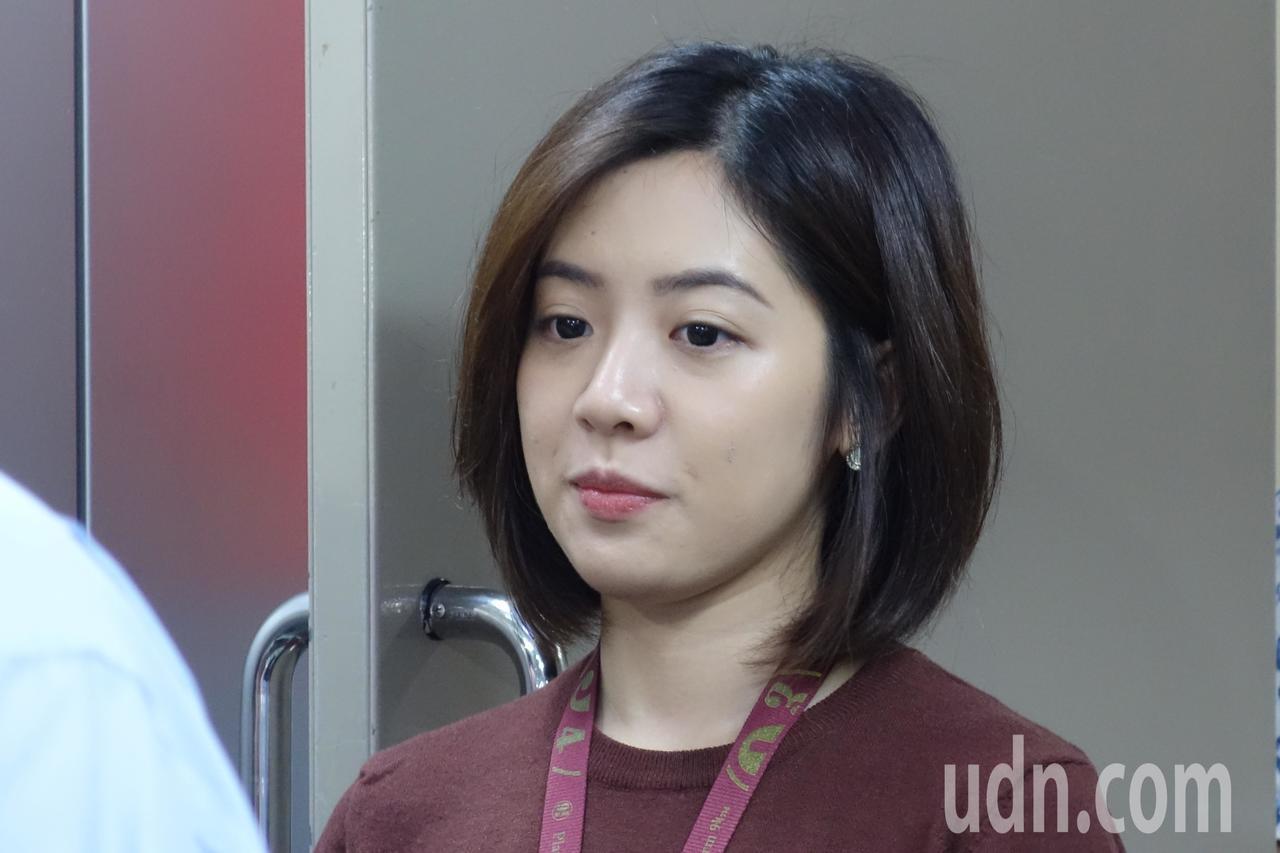北市府副發言人、「學姐」黃瀞瑩驚傳疑遭職場性騷擾。記者邱瓊玉/攝影