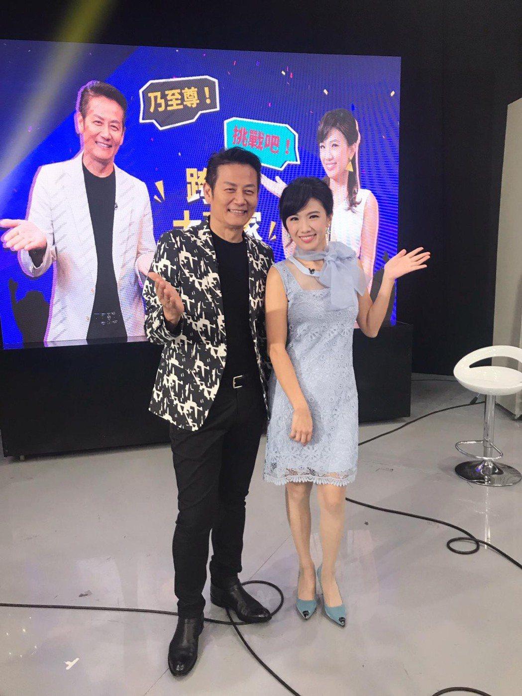 徐乃麟上東風「WIN WIN跨界大贏家」錄影。圖/東風提供