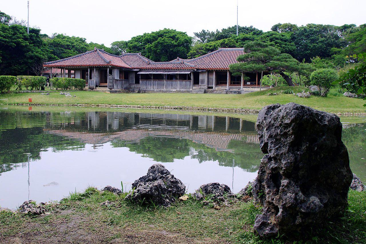 識名園是琉球王國作為離宮與接待外賓的場所。圖/維基百科
