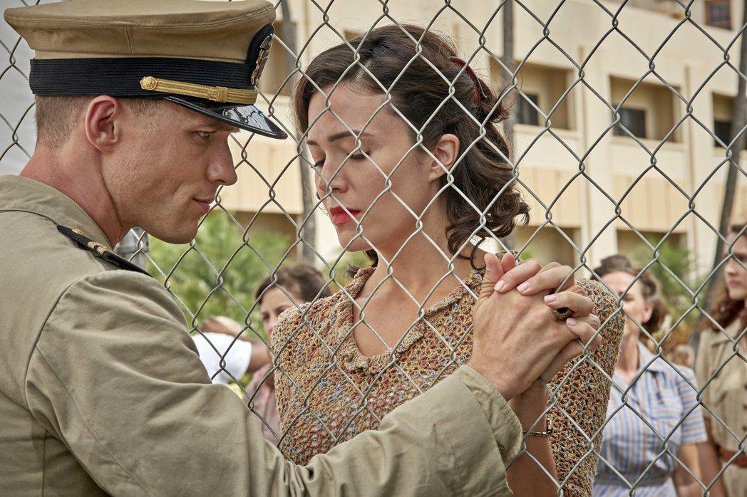 「決戰中途島」對於軍官和妻兒間的感情,有動人呈現。圖/双喜提供