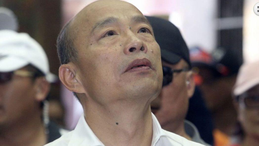 韓國瑜多次表示黑韓產業鏈發達。圖/聯合報系資料照片