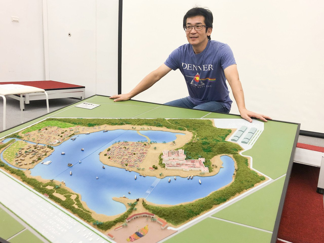 導演魏德聖10月29日說明「豐盛之城」歷史文化園區計畫,整體計畫從他的新片「台灣...