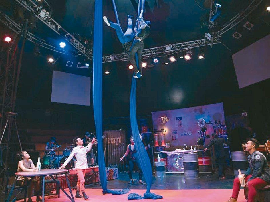 暹粒當地的社會企業法爾劇團。 圖/法爾劇團提供