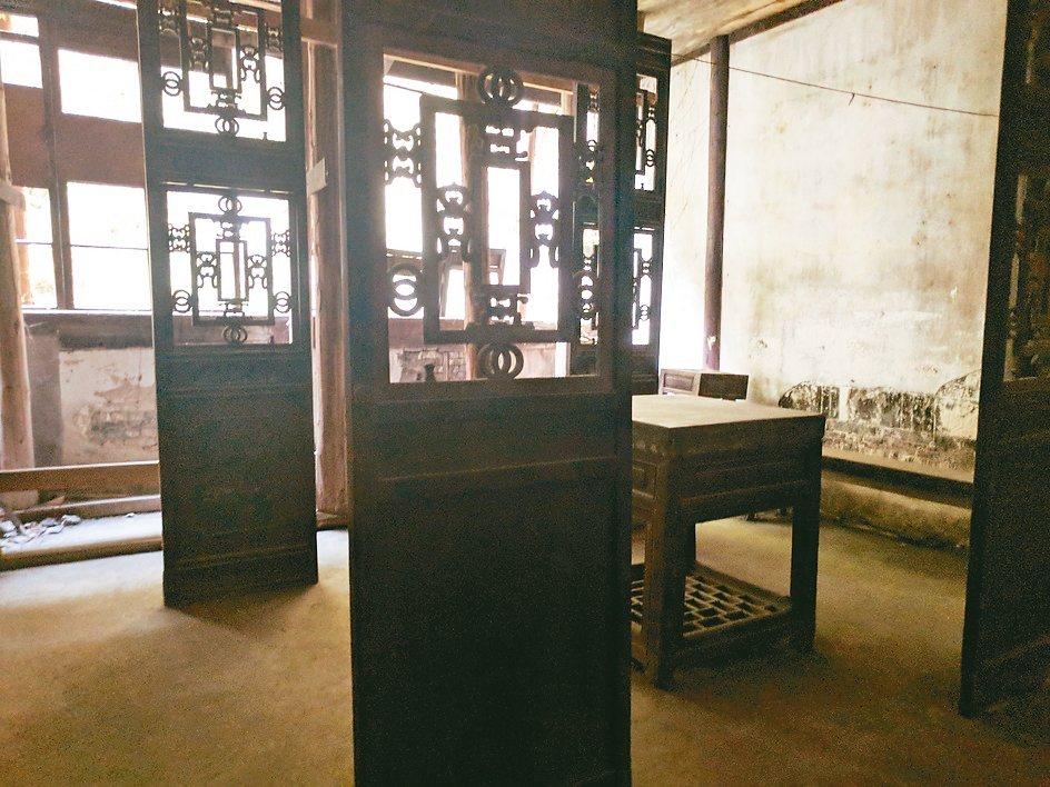 「書隱樓」自明清時代保留至今,是上海最老建築。圖/陳昭妤