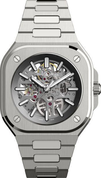 柏萊士BR05 SKELETON鏤空腕表,22萬元。圖/柏萊士提供 孫曼