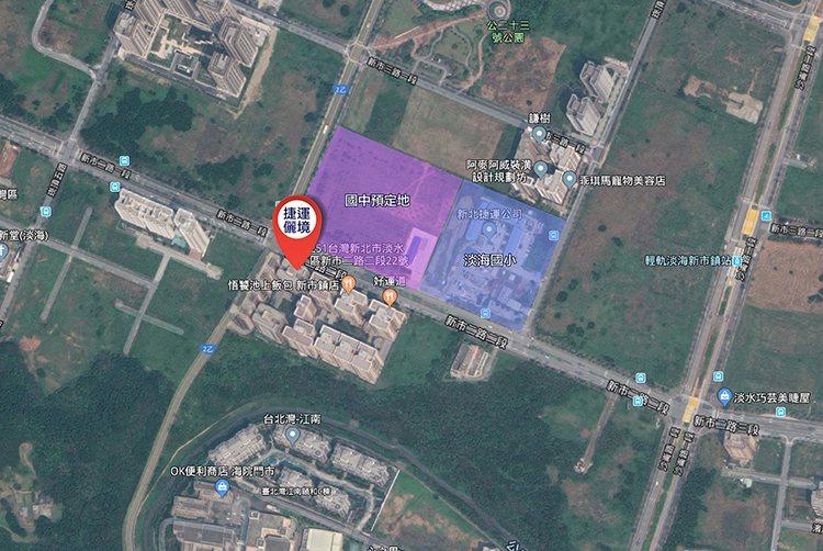 淡海新市鎮做為台北市的衛星城市,近期各項交通建設陸續完成。捷運儷境/提供