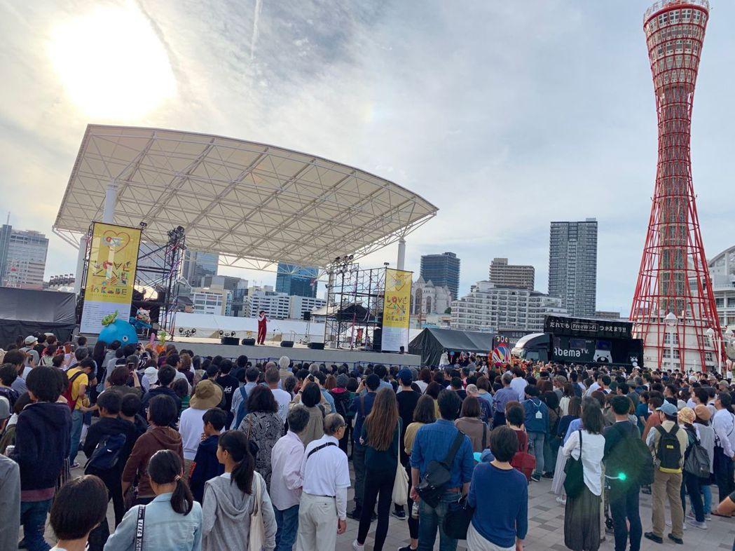Love Taiwan In Kobe展覽吸引神戶及關西大批人潮參觀  徐銀樹/...