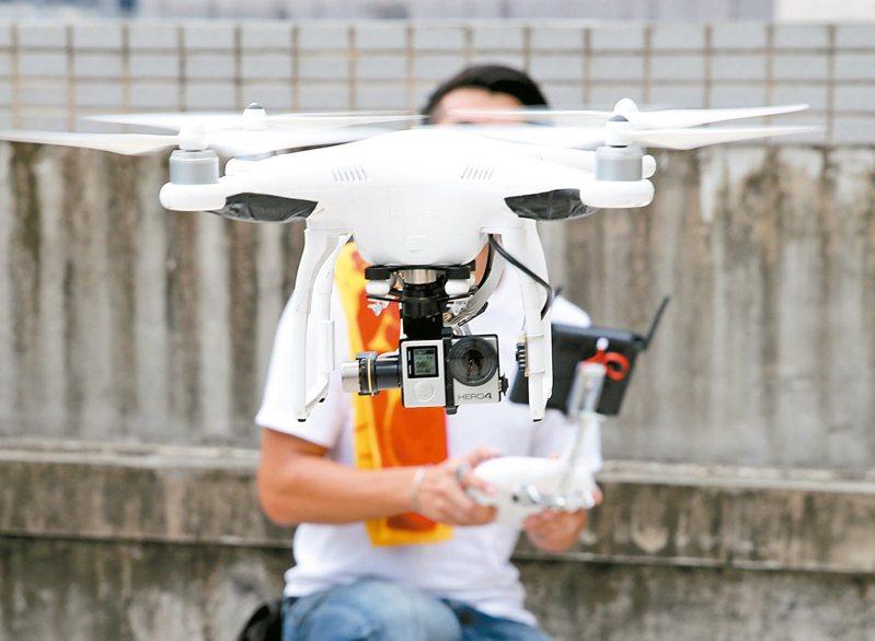 無人機管理專章將於明年3月31日上路。 圖/聯合報系資料照片