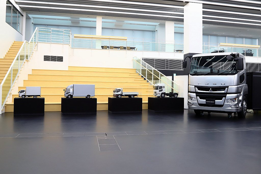 前往日本Fuso日本川崎總部參訪,揭開重型車輛的神秘面紗。 記者張振群/攝影