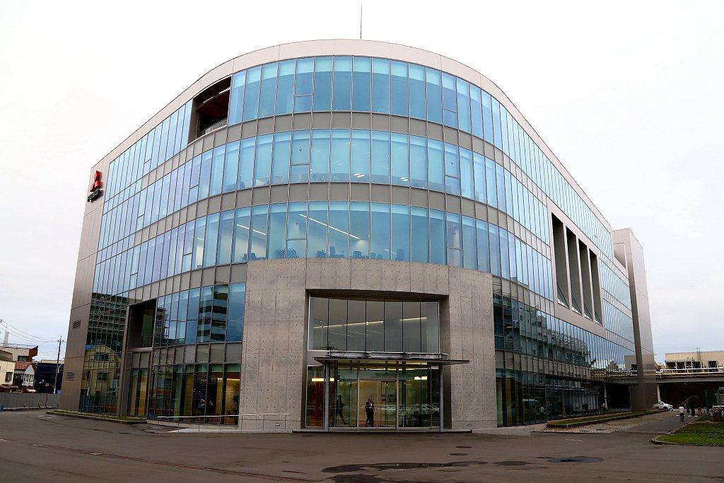 2018年底完工、2019年啟用的新大樓,是Fuso目前最新也是最先進的設計中心...