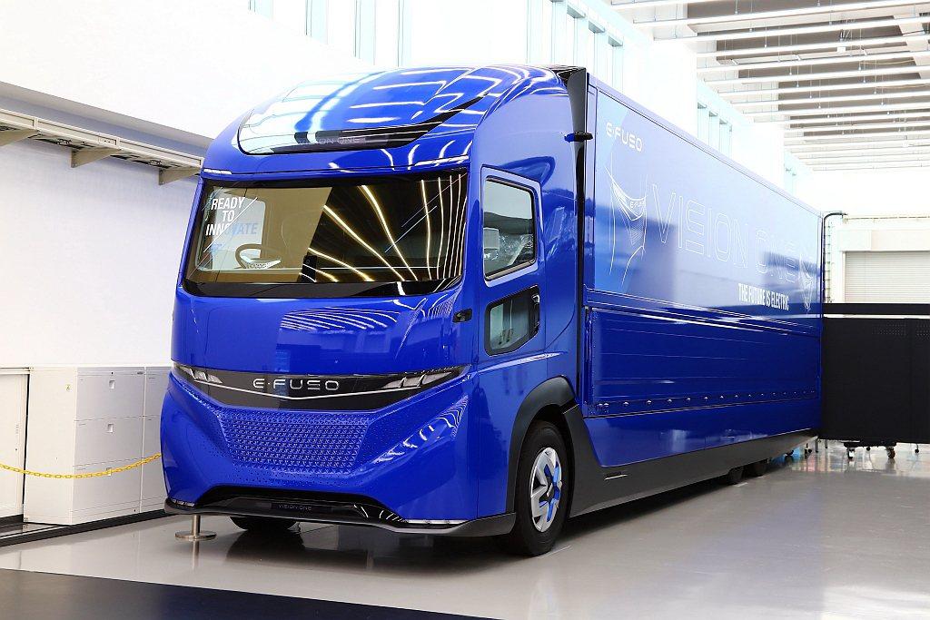就算是重型車輛,外觀造型會依據自家風格有所不同,再透過車身鈑件摺線與光線搭配,在...
