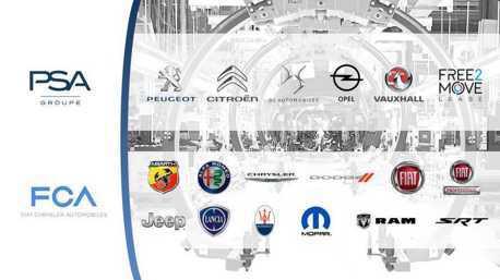 PSA與FCA集團「確定合併」 成為全球第四大汽車集團!