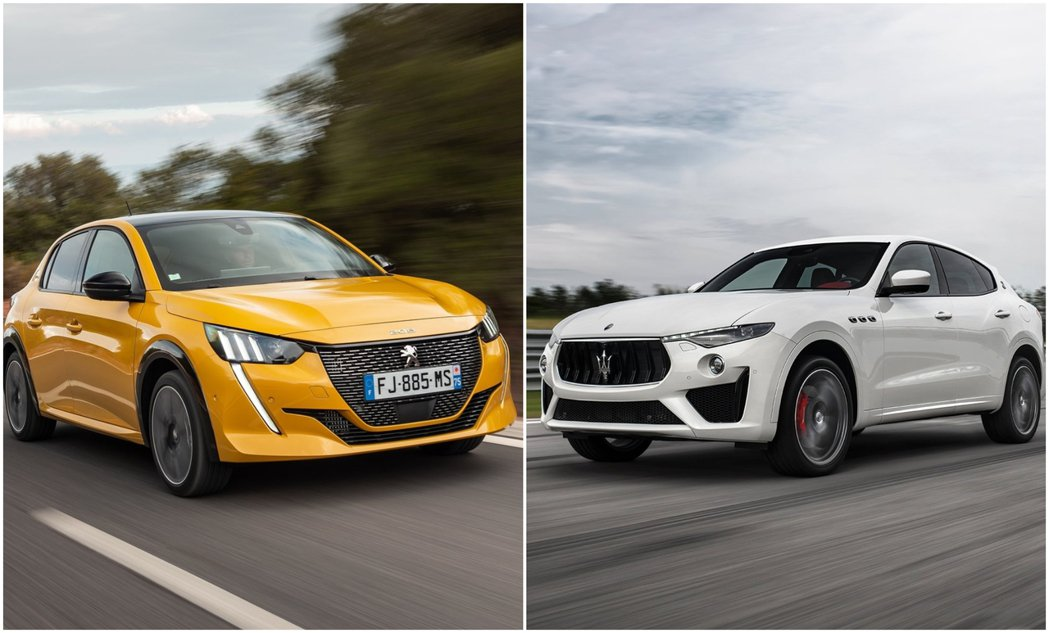 PSA集團與FCA集團合併後,將成為全球第四大汽車集團。 摘自Peugeot、M...