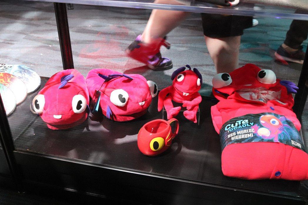 更多紅色的魚人寶寶