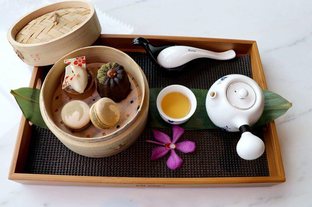 Tea Lab茶坊中式下午茶。業者/提供