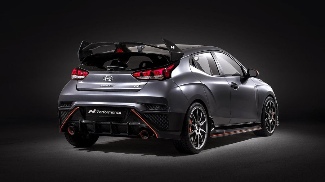 Hyundai Veloster N Performance Concept。 ...