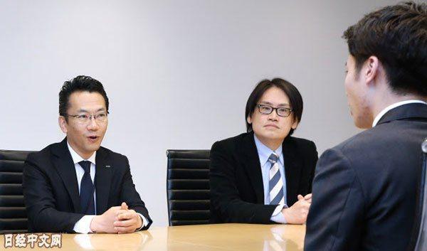 日本NTT數據公司設立了高薪聘用人才的特別制度(該公司的總部,東京江東區)