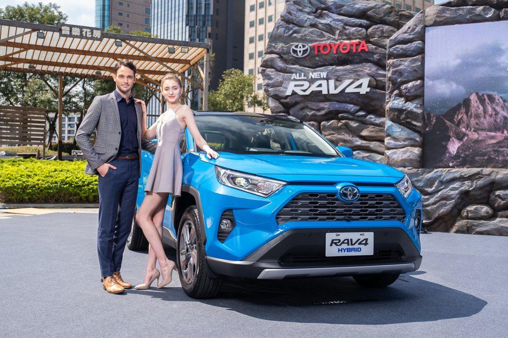 TOYOTA RAV4今年屢創單月銷售新高。 圖/和泰汽車提供