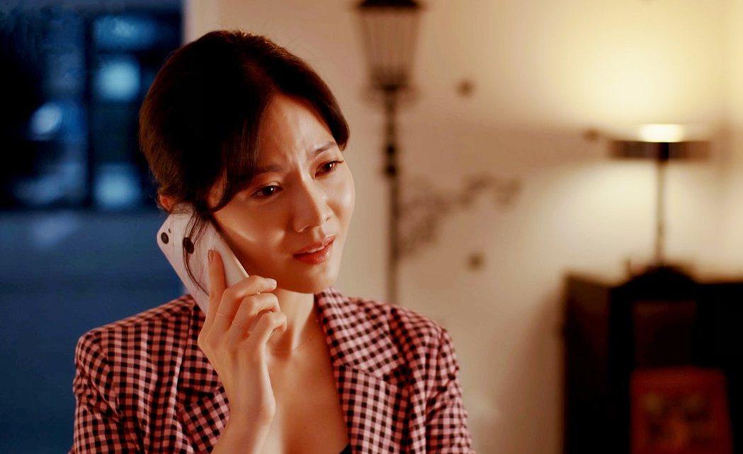 曾之喬劇中責備電話那一頭的藍心湄。圖/拙八郎提供