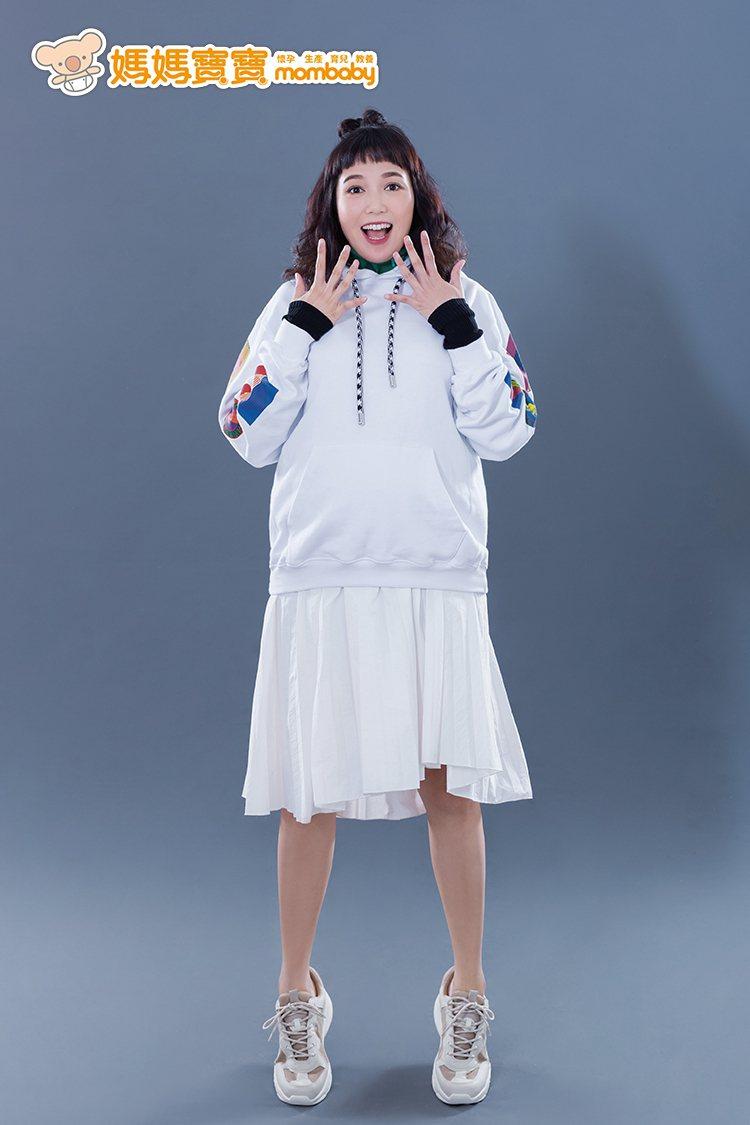 「布丁姐姐」陳櫻文將迎接第3個兒子。圖/媽媽寶寶提供