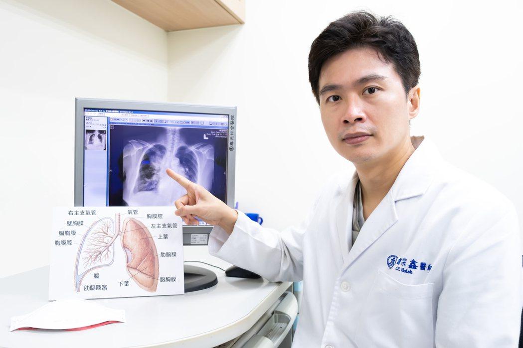 東元綜合醫院呼吸胸腔科醫師謝宗鑫指出,PM2.5毒性強,是因為它的粒子極小,直徑...