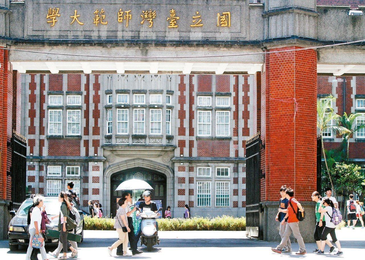台灣師範大學。本報系資料照片