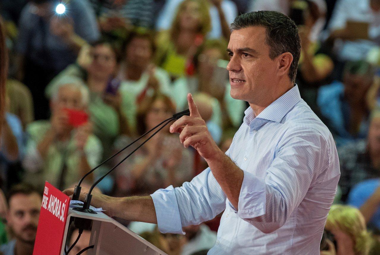西班牙總理桑傑士(圖)提議《聯合國氣候變化綱要公約》第25次締約方大會改在馬德里...